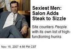 Sexiest Men: Salon Adds Steak to Sizzle