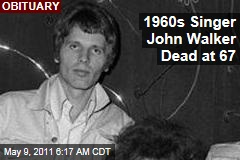 Walker Brothers Singer John Walker Dead at 67