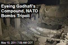 Libya Protests: NATO Strikes Target Moammar Gadhafi Compound in Tripoli, Say Witnesses