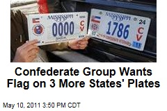 Sons of Confederate Veterans Call for Flag on 3 More States' License Plates