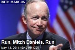 Run, Mitch Daniels, Run