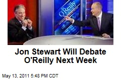 Jon Stewart Accepts Bill O'Reilly's Invitation to Debate 'Common' Rapper Controversy on Monday