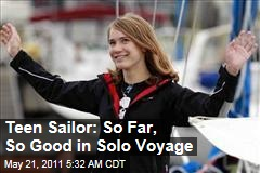 Teenage Sailor Laura Dekker Nears Halfway Point of Around-the-World Journey