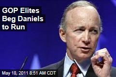 Election 2012: GOP Begging Mitch Daniels to Run for President