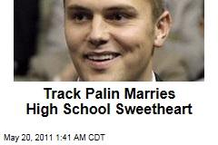 Track Palin Marries High School Sweetheart