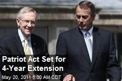 Constitution Burning: Patriot Act Extended Again