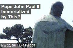 Vatican Hates New Bronze Statue of John Paul II