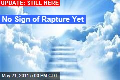 No Rapture: As Deadline Passes in Parts of the World, There's No Sign of Apocalypse