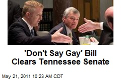 'Don't Say Gay' Bill Clears Tennessee Senate