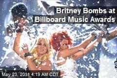 Britney Bombs on Billboard Music Awards