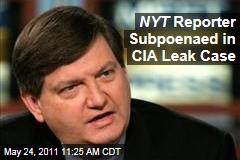 James Risen: New York Times Reporter Subpoenaed in CIA Leak Case