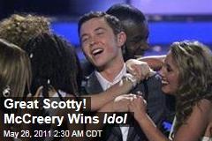 Scotty McCreery Becomes 2011 American Idol Winner