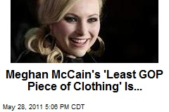 Meghan McCain's 'Least GOP Piece of Clothing' Is...