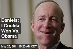 Mitch Daniels: I Could Have Beat Obama in 2012 Race