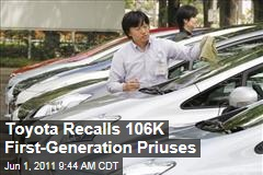 Prius Recall: Toyota Recalls 106K First-Generation Priuses