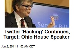 Twitter 'Hacking' Continues ... With Ohio House Speaker William Batchelder