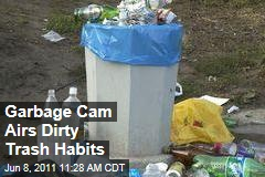 Garbage Camera Posts Trash Pictures on Facebook, Encourages Recycling