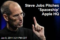 Steve Jobs Apple CEO Pitches Huge Silicon Valley Expansion for Apple in Cupertino