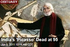 M.F. Hussain India's 'Picasso' Dead at 95
