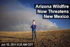 Arizona's Wallow Wildfire Now Threatens New Mexico