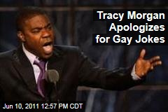 Tracy Morgan Apologizes for Anti-Gay Jokes in Standup Routine