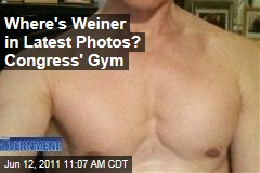 Anthony Weiner Photos: Latest Pictures Were Taken in House Members Gym