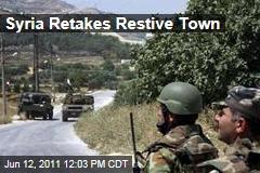 Syrian Army Retakes Restive Border Town Jisr al-Shughour