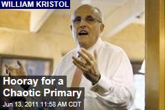 William Kristol: Hooray for a Chaotic GOP Primary