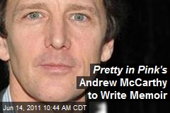 Pretty in Pink's Andrew McCarthy to Write Memoir