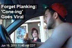 Forget Planking: Alki Stevens' 'Cone-ing' Goes Viral