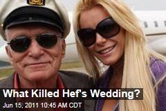 Hugh Hefner, Crystal Harris Split: What Happened Before Canceled Wedding?