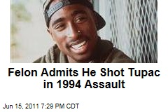 Tupac Shakur: Felon Dexter Isaac Admits He Shot and Robbed Rapper in 1994