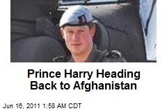 Prince Harry Heading Back to Afghanistan