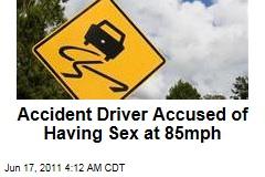 Washington Beltway Crash Driver Accused of Having Sex at 85mph