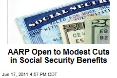 AARP Open to Modest Cuts in Social Security Benefits