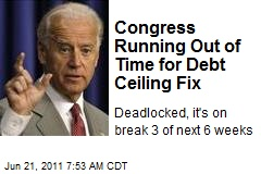 Congress Running Out of Time for Debt Ceiling Fix