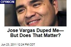 Jose Antonio Vargas Duped Me, But Does That Matter, Asks Phil Bronstein