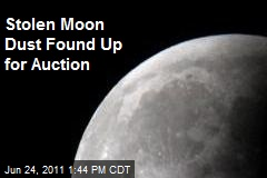 Stolen Moon Dust Found Up for Auction