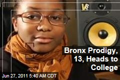 Autum Ashante, Bronx Prodigy at Age 13, Heads to University of Connecticut
