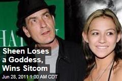 Charlie Sheen Breaks Up With Natalie Kenley, Gets Lionsgate