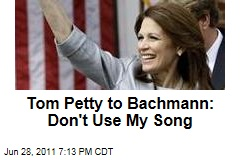 Tom Petty, Michele Bachmann: Rocker Doesn't Want Her Using His Song 'American Girl'