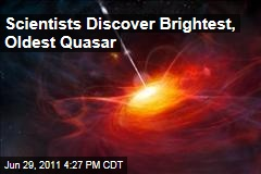 New Oldest, Brightest Quasar Discovered by Scientists