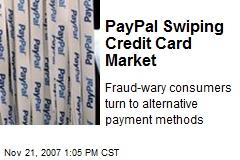 PayPal Swiping Credit Card Market