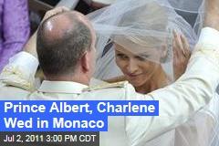Prince Albert II Weds Charlene Wittstock in Monaco