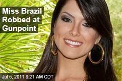 Miss Brazil Debora Lyra Robbed in Sao Paulo
