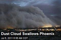 Dust Cloud Swallows Phoenix