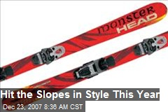 Hit the Slopes in Style This Year