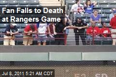 Fan Falls to Death at Rangers Game