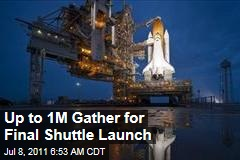 Space Shuttle Atlantis Launch Draws Massive Crowds