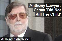Casey Anthony Lawyer Cheney Mason: Casey Didn't Kill Caylee